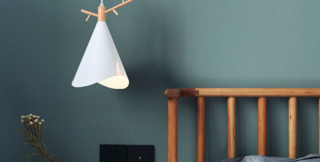 LED Macaroom Deer Design Pendant Light