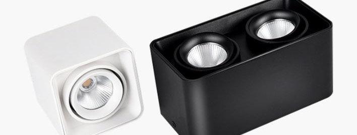 LED Aluminum Ceiling Mounted Spot Light
