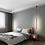Thumbnail: LED Vertical Linear Decorative Pendant Light