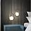 Thumbnail: LED Metal Glass Pendant Light American Style