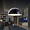 Thumbnail: Concise Style LED Aluminium Pendant with Flowery Engravings for Dining Room