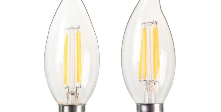 LED E14 Edison Candle Light Bulb