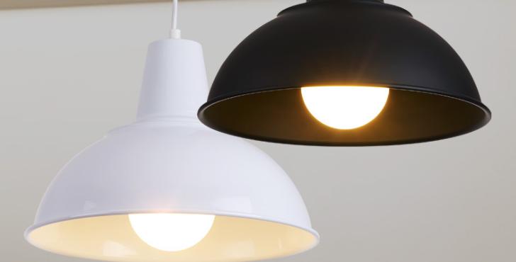LED Retro Simple Pendant Light