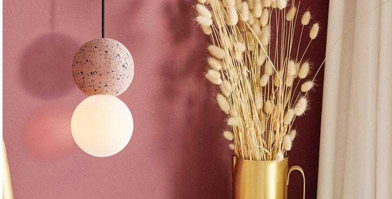 LED Mini Cement Pendant Light