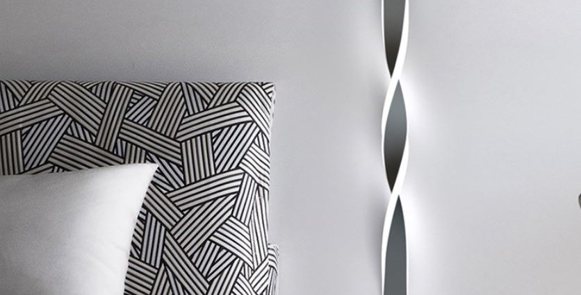 LED Spiral Wall Light
