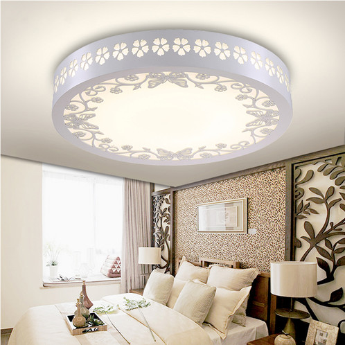 Wood Acrylic LED Butterfly Ceiling Light