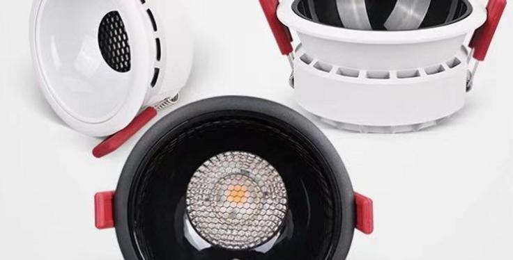 LED Recessed Anti-glare Honeycomb COB Downlight