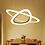 Thumbnail: Post Modern Creative Ring Design LED Acrylic Pendant Light