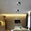 Thumbnail: LED Button Design Ultra-light Ceiling Spotlight