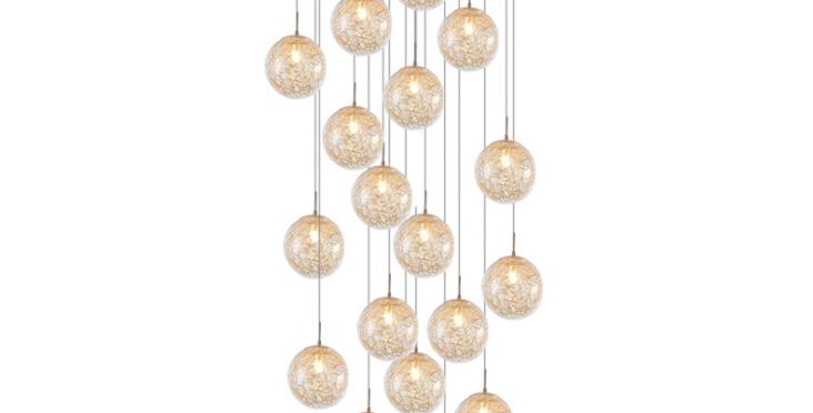 LED Multi-sphere Modern Luxury Pendant Light