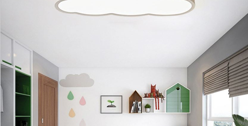 LED Cloud Design Ceiling Light for Children Room