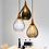 Thumbnail: LED Water Wave Pattern Design Glass Pendant Light