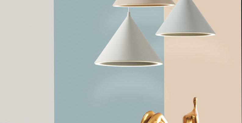 Macaron Colour Modern Aluminium Pendant Light
