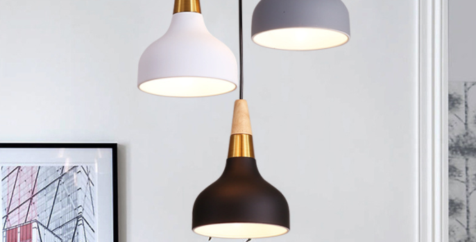 LED North European Macaroon Pendant Light