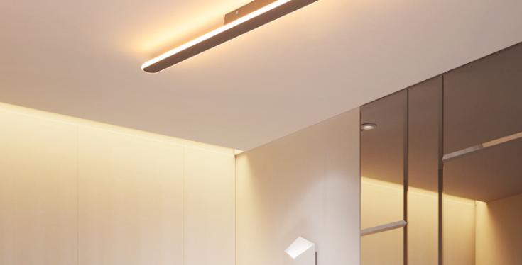LED Linear Modern Acrylic Ceiling Light