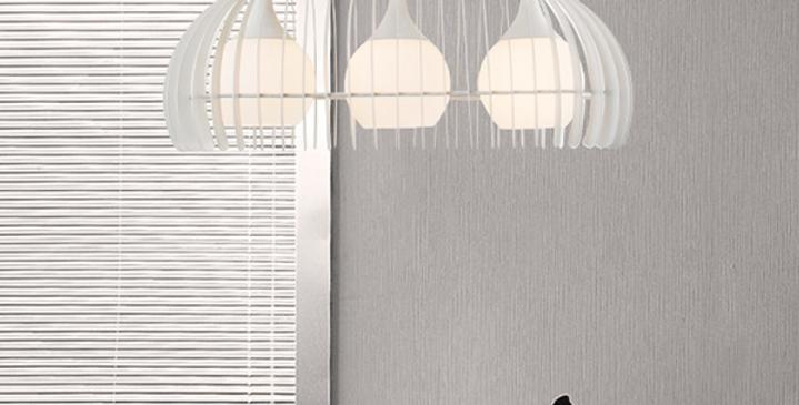 LED Modern 3-Bulb Pendant Light