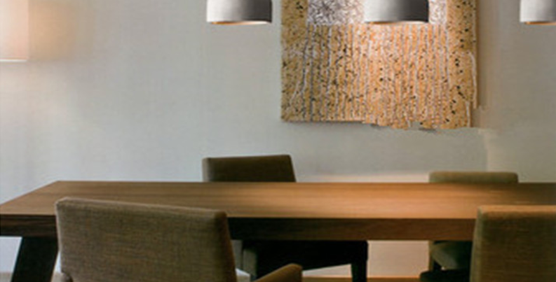 Simple LED Cement Pendant for Bar Restaurant Dining Room