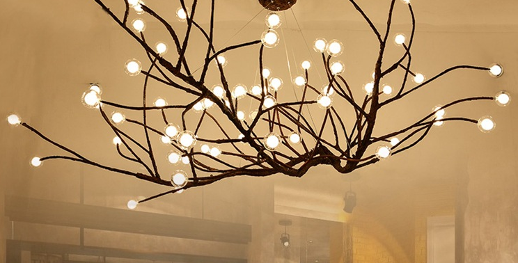 Branch Design LED Pendant for Restaurant and Hotel