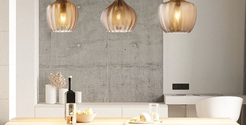 LED Creative Modern Glass Pendant