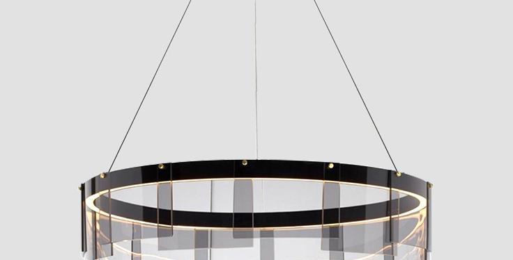 LED Modern-O Round Pendant Light