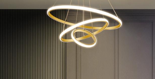 LED Super-Thin Halo Pendant Light