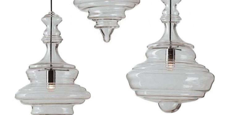 LED Modern North European Glass Pendant Light