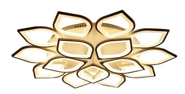 LED Acrylic Lotus Design Ceiling Light