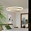 Thumbnail: LED Double Circle Postmodern Pendant Light
