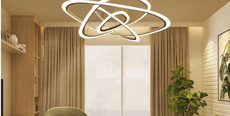Post Modern Creative Ring Design LED Acrylic Pendant Light