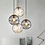 Thumbnail: LED New Modern Glass Sphere  Pendant Light