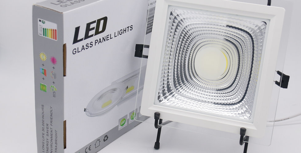 LED Glass-Edge Square Downlight