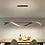 Thumbnail: LED Wave Design Office Pendant Light