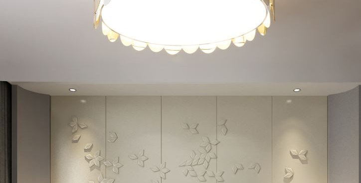 LED The Nordic Modern Egg Shape Ceiling Light