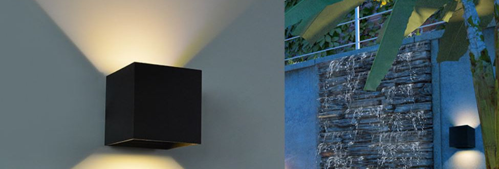 LED Square IP65 Outdoor Wall Light