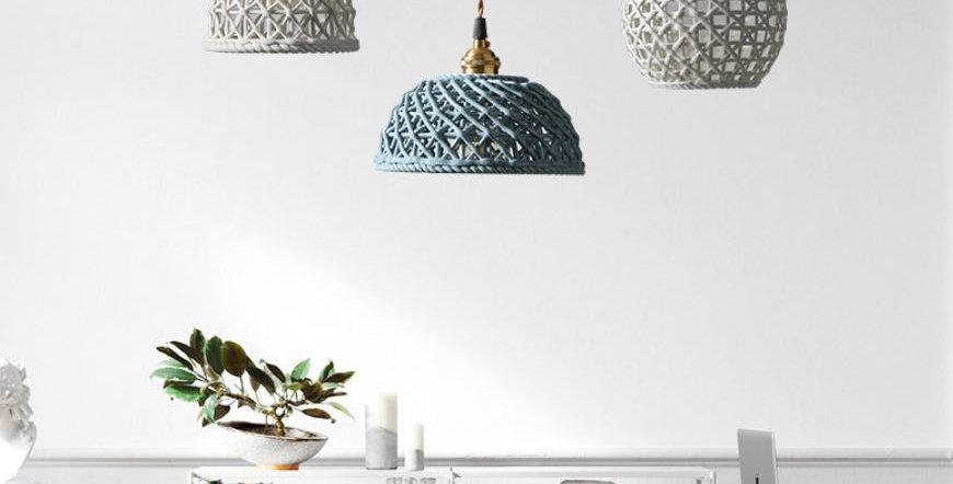 LED Ceramic Japanese Design Pendant