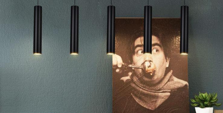 LED Cylinder Pendant Light