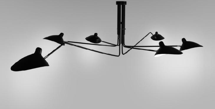 LED Spider-Shape Office Light