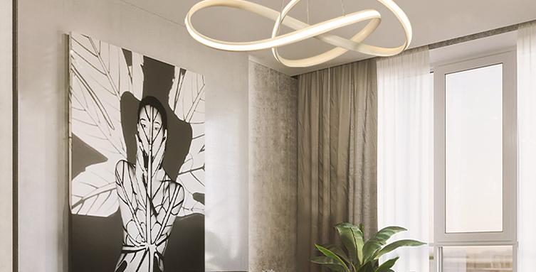 E167 LED Postmodern Pendant Light