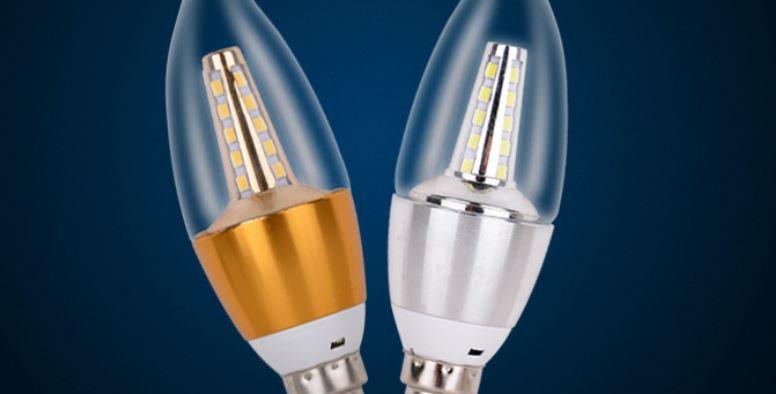 LED E14 Transparent Tail Bulb