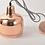 Thumbnail: LED Electroplated Modern Pendant Light
