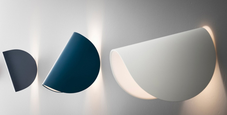 LED Simple Curved Wall Light
