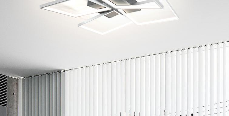 LED 4REC Morden Ceiling Light