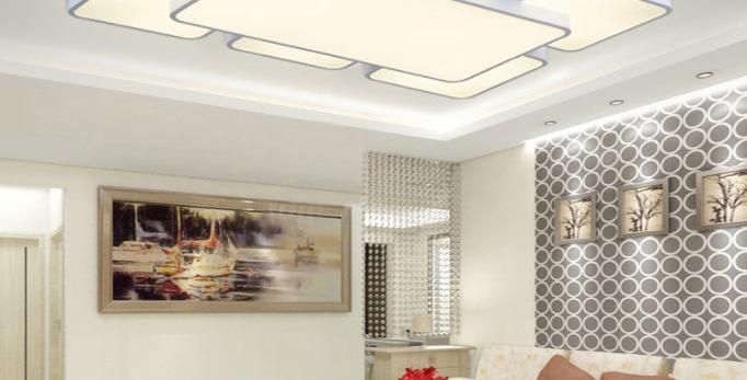 LED Acrylic Rectangle/Square Ceiling Light