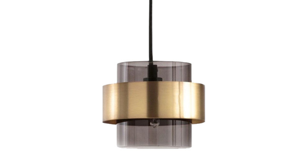LED Postmodern Simple Luxury Glass Pendant Light