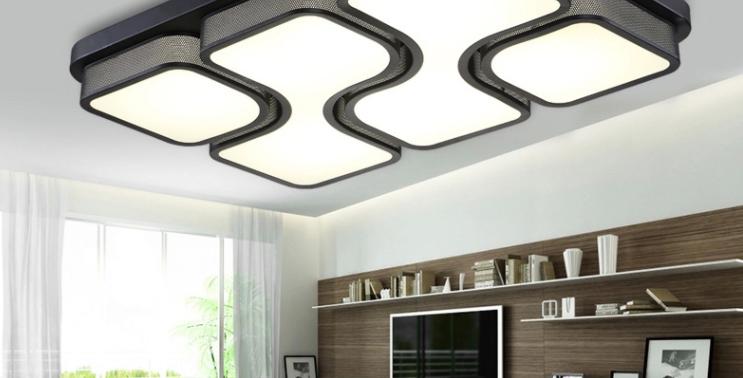 LED Acrylic Modern DesignCeiling Light for Living Room