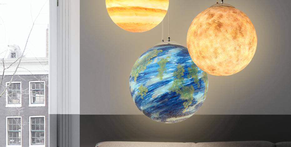 LED Modern Planet Design Pendant Light