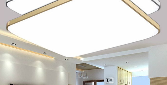 LED Bright+ Basic Rectangle Ceiling Light