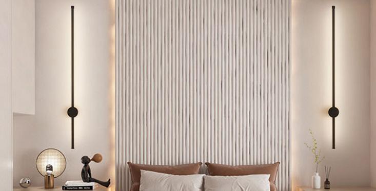 LED North-European Modern Linear Wall Light