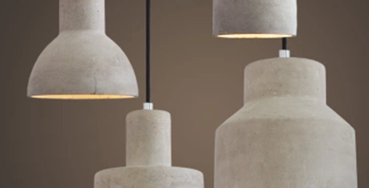 North European Style LED Cement Pendant