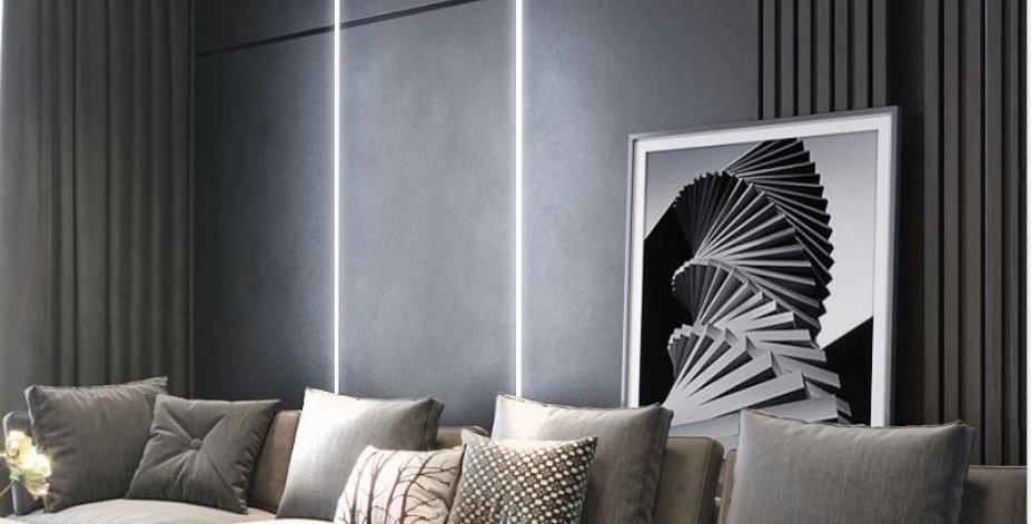 LED Linear Aluminium Light for wardrobe wall corridor